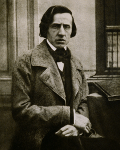 Frederic Chopin by Bisson 1849